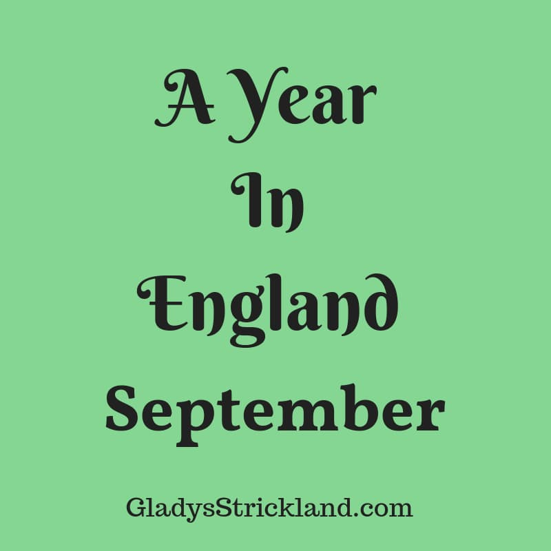 A Year In England – September