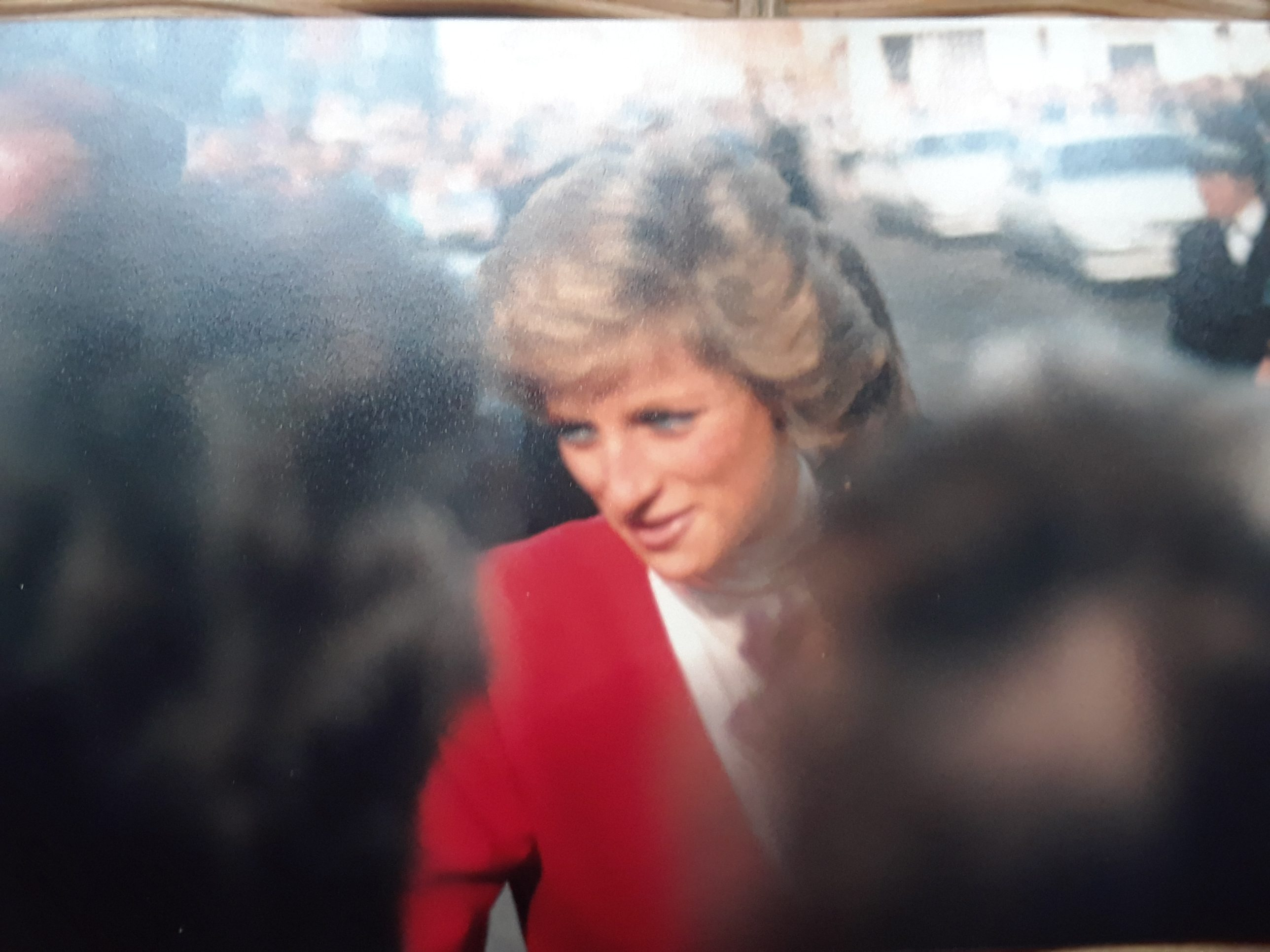 Her Royal Highness Diana, Princess of Wales in Beverley, East Yorkshire September 1988