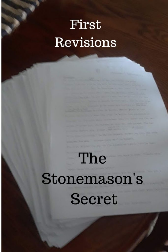 The Stonemason's Secret – First Revisions